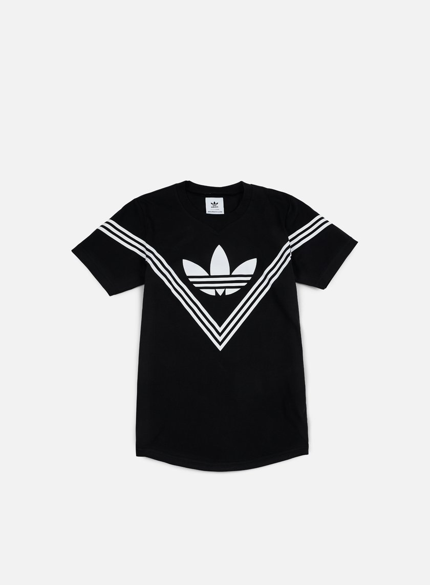Adidas by white mountaineering wm logo t shirt black for White adidas logo t shirt