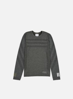 Adidas by White Mountaineering - WM LSL T-shirt, Utility Grey 1