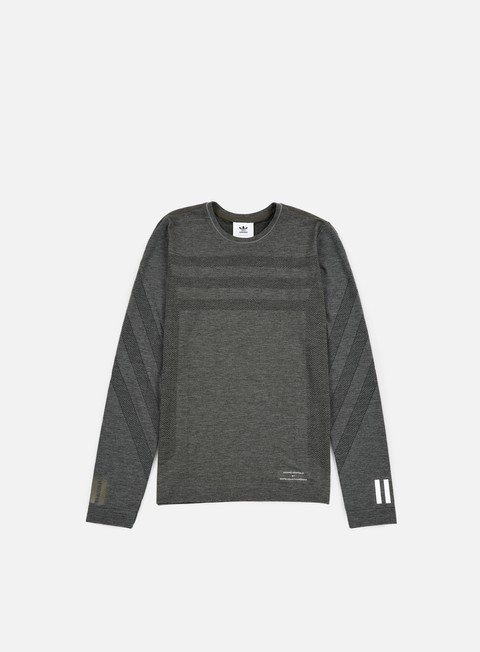 t shirt adidas by white mountaineering wm lsl t shirt utility grey