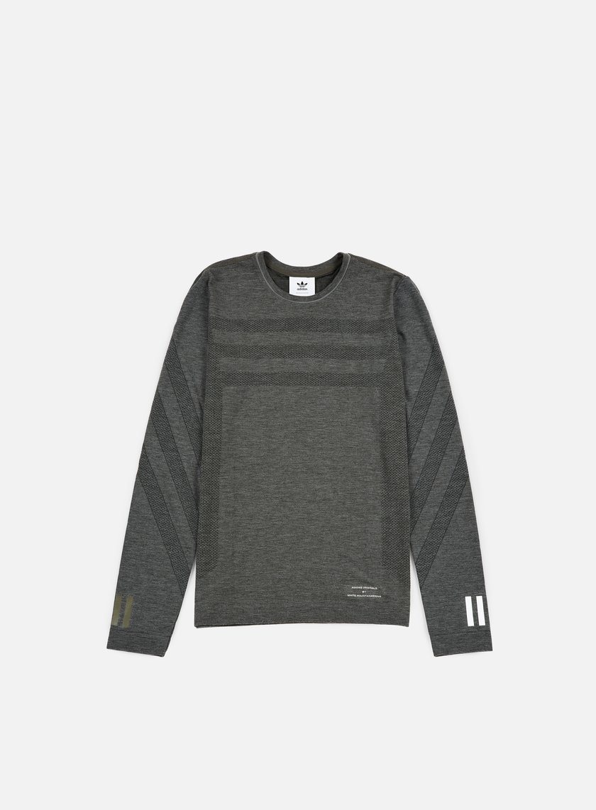 Adidas by White Mountaineering - WM LSL T-shirt, Utility Grey