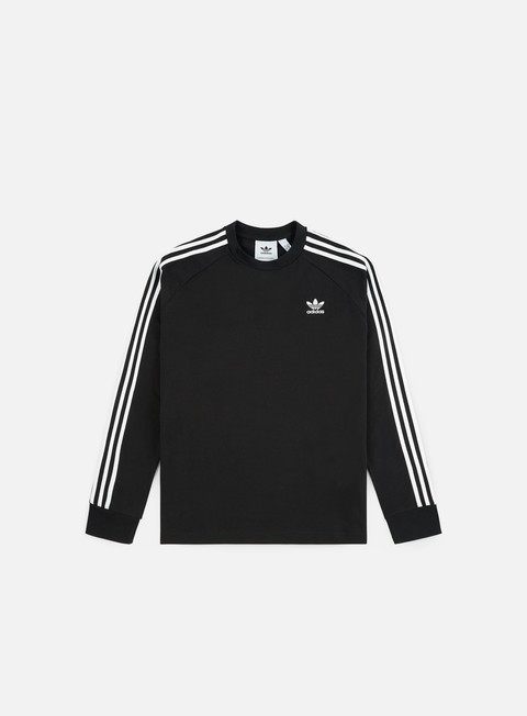 Outlet e Saldi T-shirt a Manica Lunga Adidas Originals 3 Stripes LS T-shirt