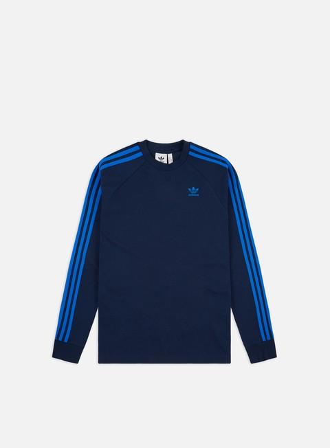 Outlet e Saldi T-shirt a Manica Lunga Adidas Originals 3-Stripes LS T-shirt