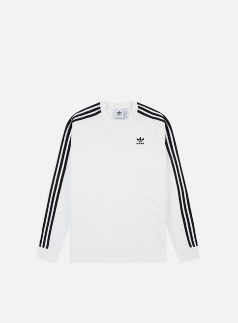 Outlet e Saldi T-shirt a Manica Lunga Adidas Originals 3-Stripes LS T-shirt