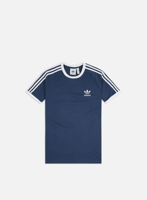 Sale Outlet Short Sleeve T-shirts Adidas Originals 3 Stripes T-shirt