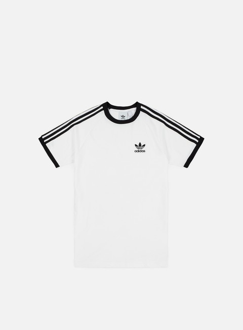t shirt adidas originals 3 stripes t shirt white