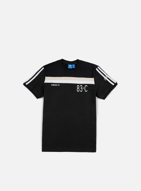 t shirt adidas originals 83 c t shirt black