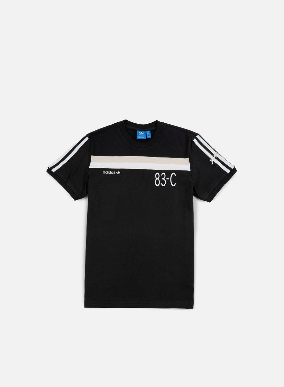 Adidas Originals - 83-C T-shirt, Black
