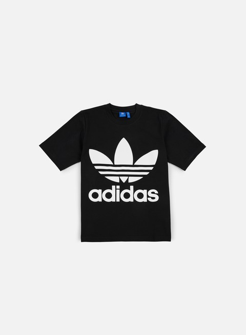 t shirt adidas originals ac boxy t shirt black