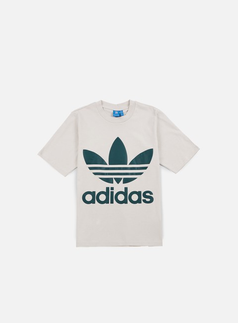 t shirt adidas originals ac boxy t shirt clear brown