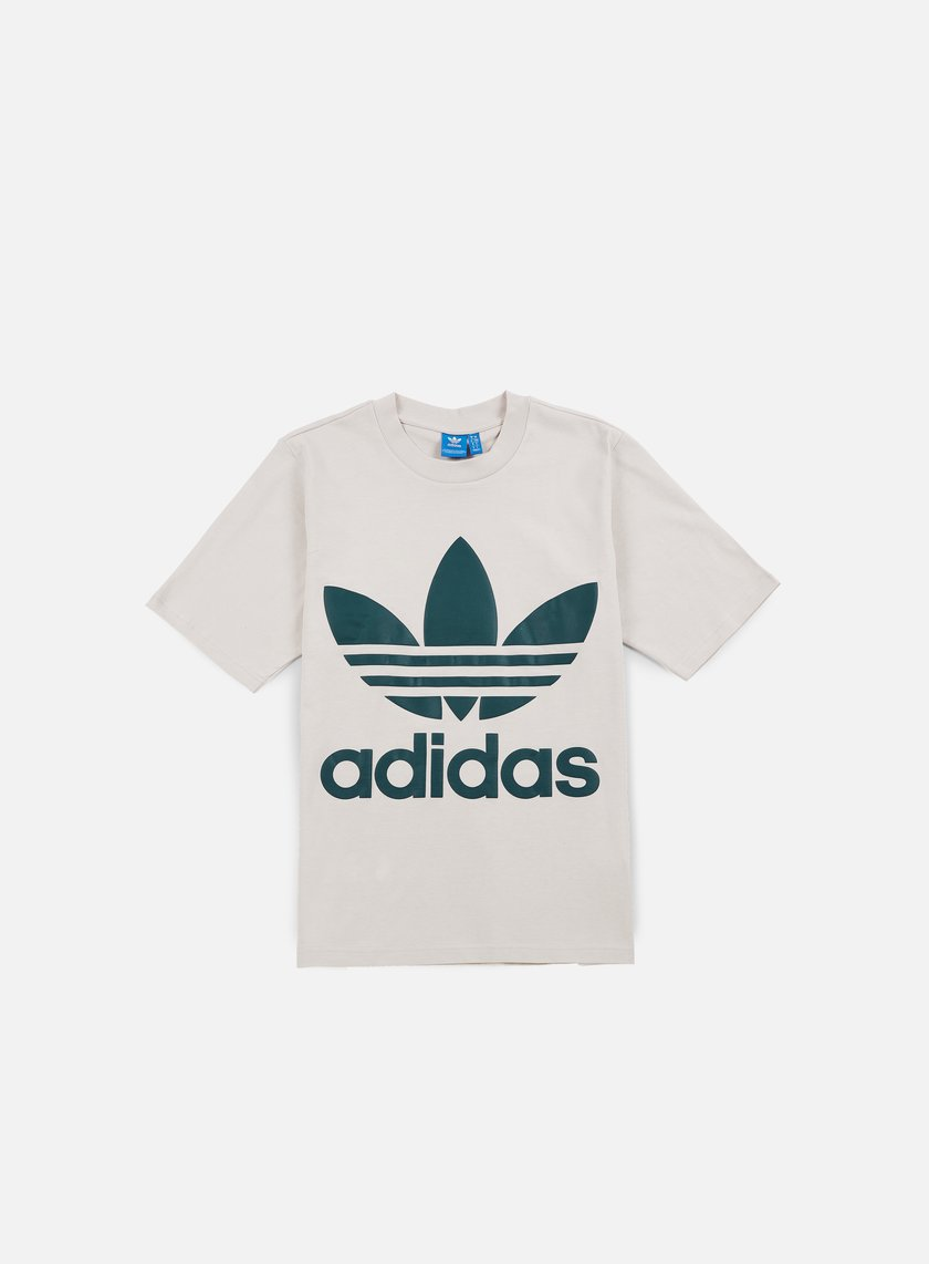 Adidas Originals - AC Boxy T-shirt, Clear Brown