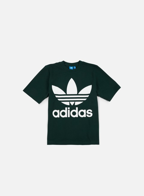 t shirt adidas originals ac boxy t shirt green night