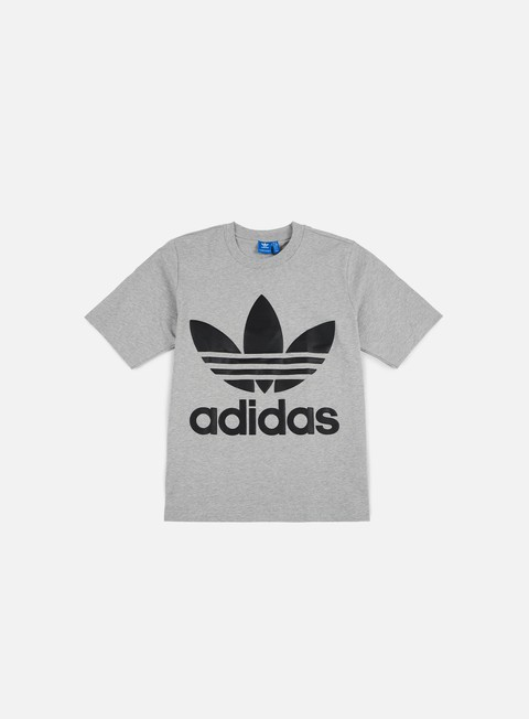 t shirt adidas originals ac boxy t shirt medium grey heather