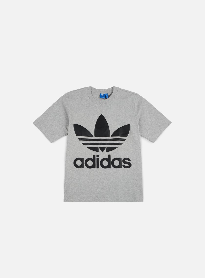 Adidas Originals - AC Boxy T-shirt, Medium Grey Heather