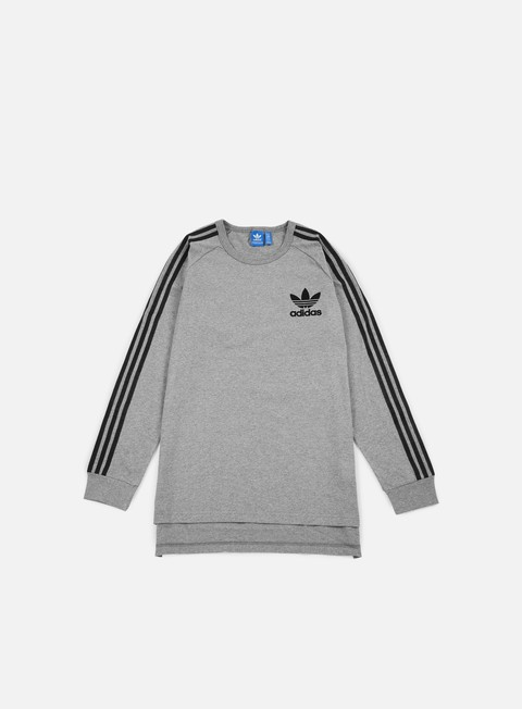 t shirt adidas originals adc fashion ls t shirt core heather