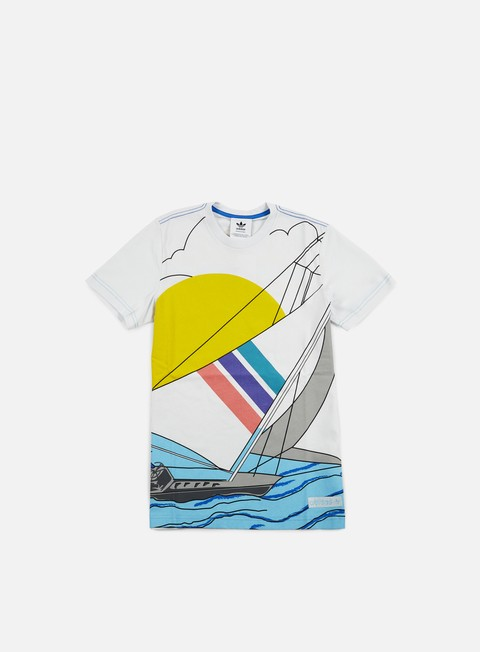 t shirt adidas originals adi sailing t shirt white
