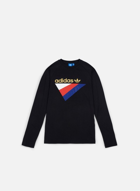 t shirt adidas originals anichkov ls t shirt black