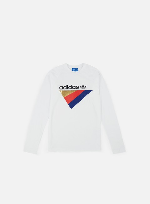 t shirt adidas originals anichkov ls t shirt white
