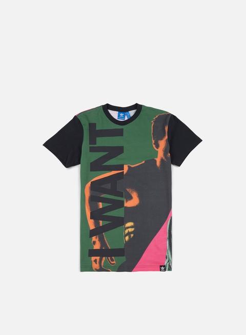 Outlet e Saldi T-shirt a Manica Corta Adidas Originals Archive Catalog 1 T-shirt