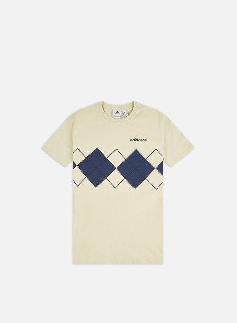 Outlet e Saldi T-shirt a Manica Corta Adidas Originals Argyle T-shirt