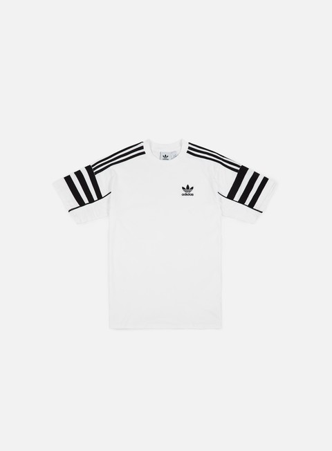 t shirt adidas originals auth t shirt white black