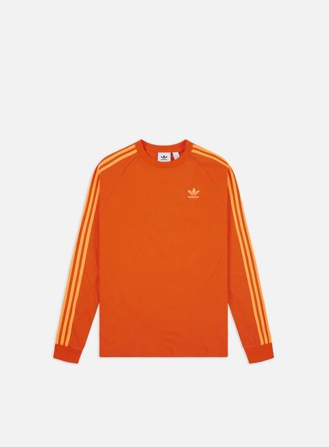 Outlet e Saldi T-shirt a Manica Lunga Adidas Originals BLC 3-S LS T-shirt