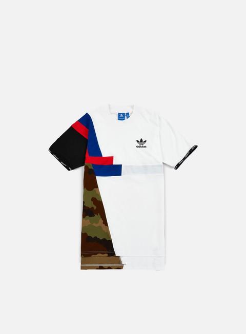 Outlet e Saldi T-shirt a Manica Corta Adidas Originals Block Long T-shirt