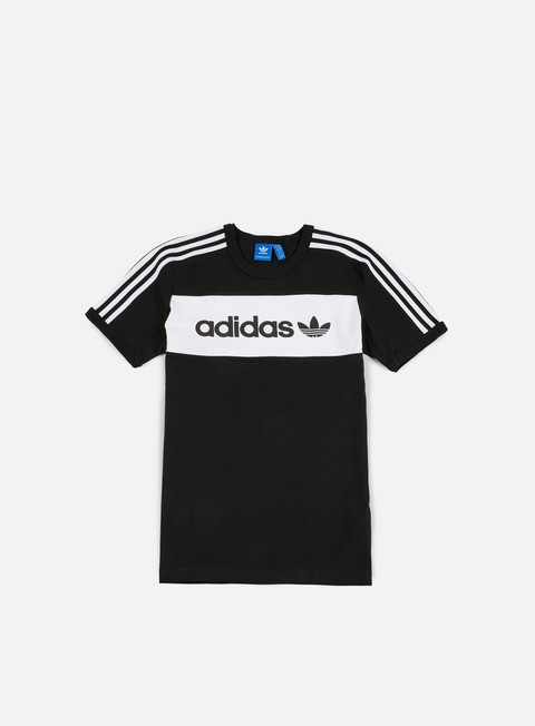 t shirt adidas originals block t shirt black