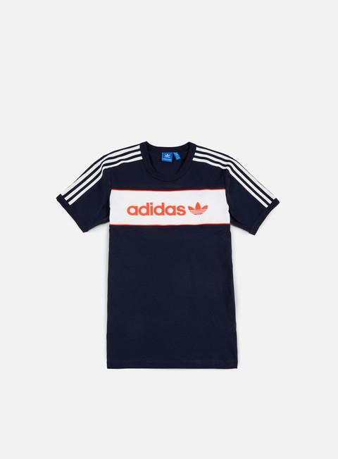 t shirt adidas originals block t shirt legend ink