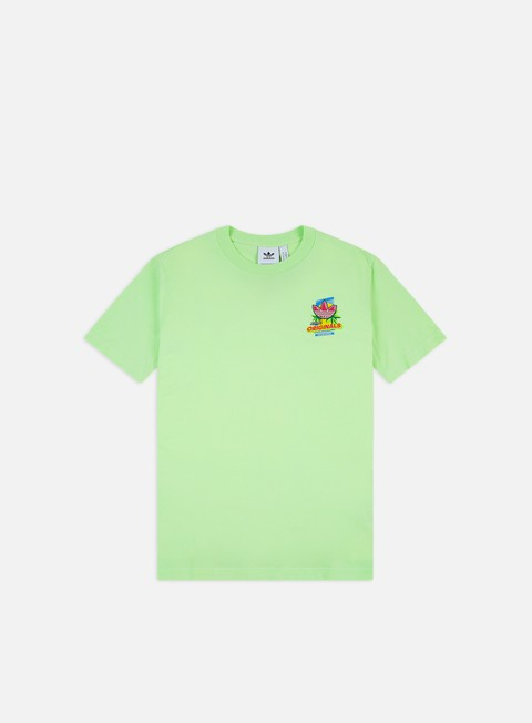 demasiado mil millones ladrón  Adidas Originals Bodega Popsicle T-shirt Men, Glow Green | Graffitishop