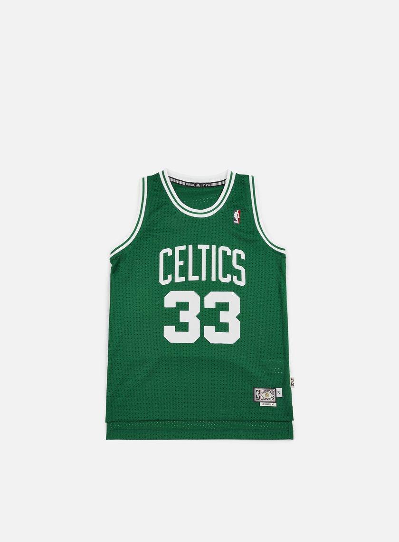67a26ddd3ca3 ADIDAS ORIGINALS Boston Celtics Retired Jersey Larry Bird € 53 Tank ...