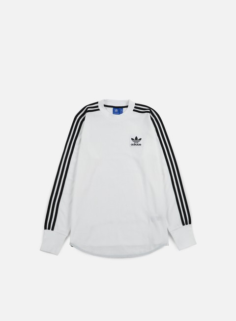t shirt adidas originals brand waffle ls t shirt white