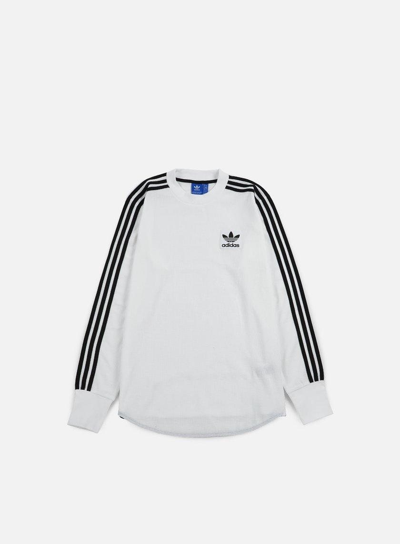 Adidas Originals - Brand Waffle LS T-shirt, White