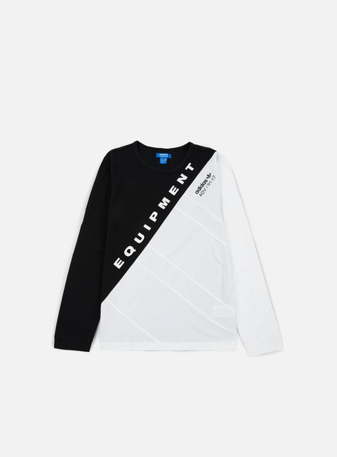Outlet e Saldi T-shirt a Manica Lunga Adidas Originals Burnside LS T-shirt