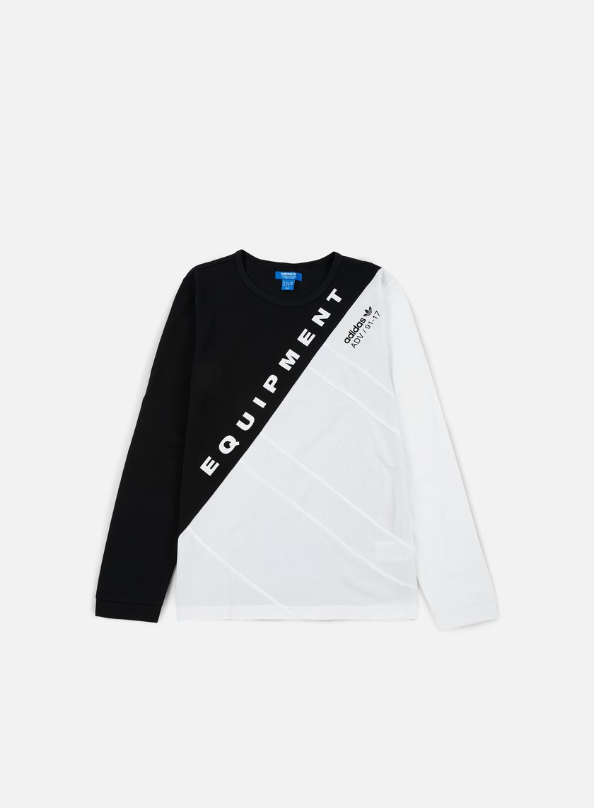 Adidas Originals - Burnside LS T-shirt, Black/White