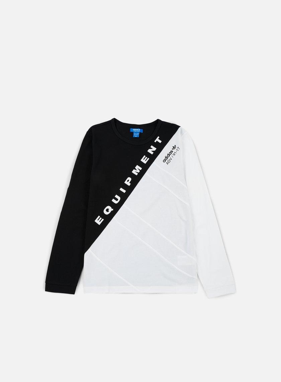Adidas Originals - Burnside LS T-shirt, Black/White