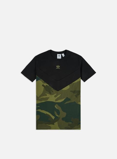 Short Sleeve T-shirts Adidas Originals Camo Block T-shirt
