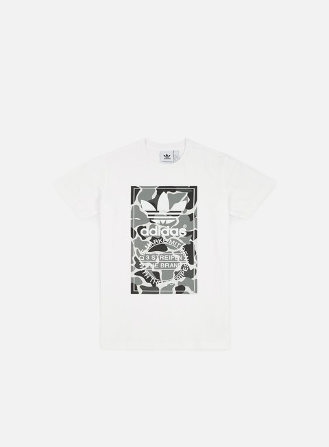 Short Sleeve T-shirts Adidas Originals Camo Label 2 T-shirt