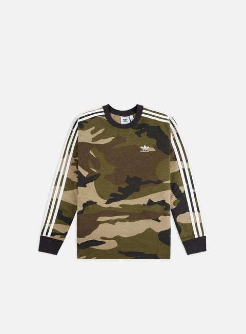 Long Sleeve T-shirts Adidas Originals Camo LS T-shirt