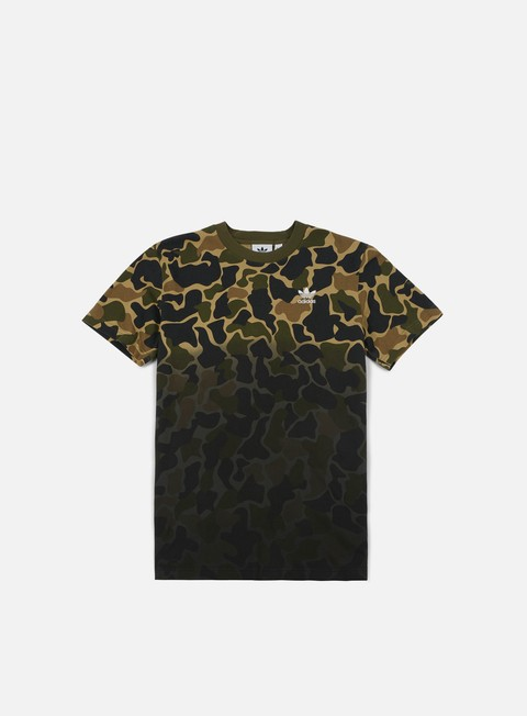 Short Sleeve T-shirts Adidas Originals Camo T-shirt