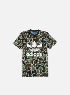 Adidas Originals - Camo Trefoil T-shirt, Multicolor 1