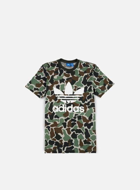 t shirt adidas originals camo trefoil t shirt multicolor