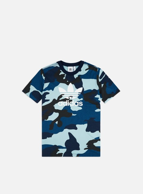 Short Sleeve T-shirts Adidas Originals Camo Trefoil T-shirt