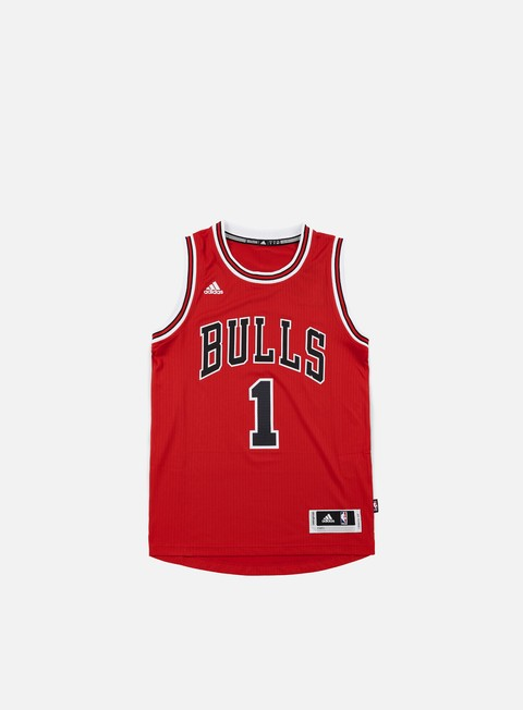 t shirt adidas originals chicago bulls swingman jersey derrick rose team colors