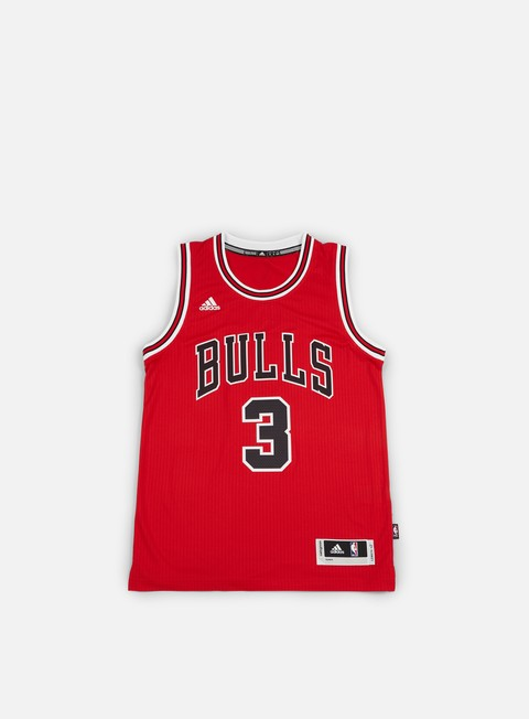 Canotte da Basket Adidas Originals Chicago Bulls Swingman Jersey Dwyane Wade