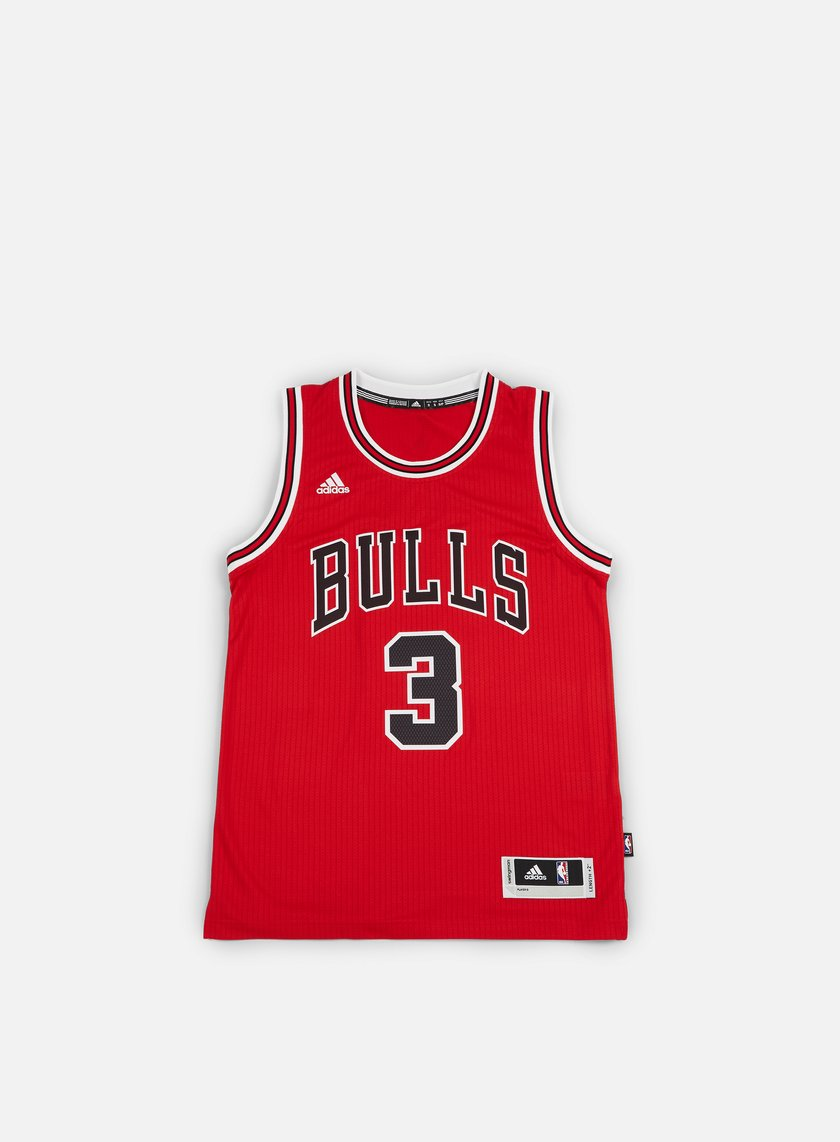 Adidas Originals - Chicago Bulls Swingman Jersey Dwyane Wade, Team Colors