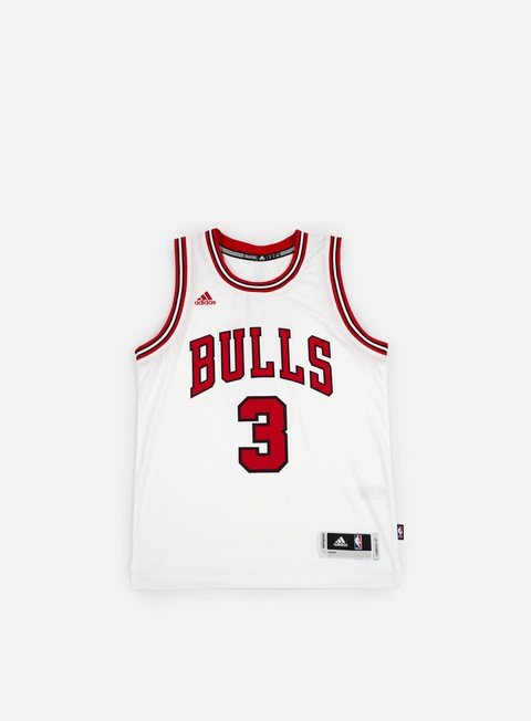 t shirt adidas originals chicago bulls swingman jersey ii dwyane wade team colors
