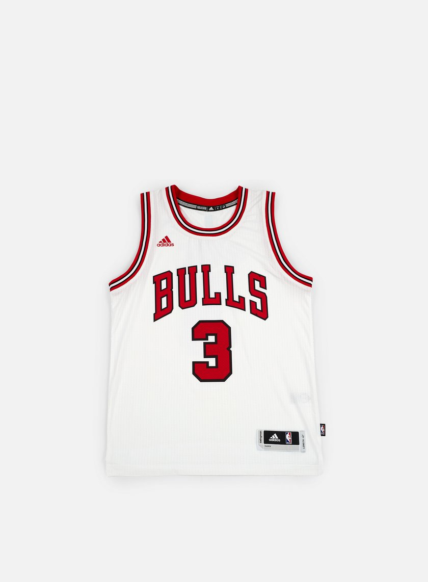 Adidas Originals - Chicago Bulls Swingman Jersey II Dwyane Wade, Team Colors