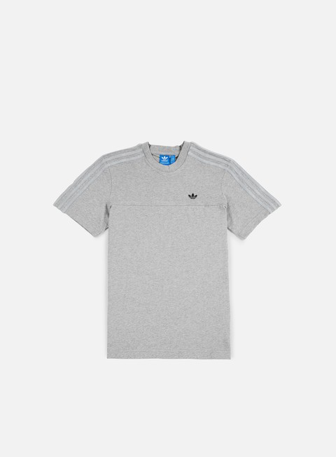 t shirt adidas originals classic trefoil t shirt medium grey heather