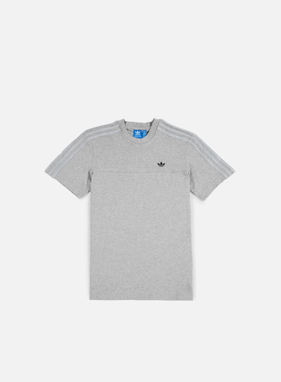 Adidas Originals - Classic Trefoil T-shirt, Medium Grey Heather