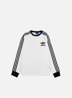 Adidas Originals - CLFN LS T-shirt, White 1
